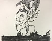 Lithograph 6: Kareen