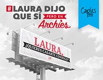 LAURA DIJO QUE SÍ - ARCHIES COLOMBIA