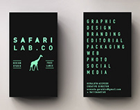 Safari Lab tarjetas