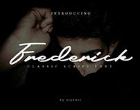 Free Frederick Classic Script Font