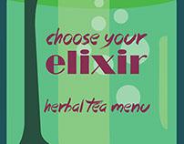 herbal tea menu