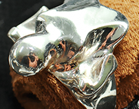 Bone Ring. Model 01.