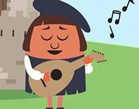 Music brings peace to a kingdom