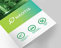 Neotis. Brochure design. Uralsk, Kazakhstan