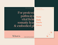 Institute of Somatic Sexology - Re-Brand & Web Design