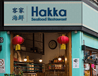 Hakka Seafood Restaurant (Logo, Signage, Marketing)