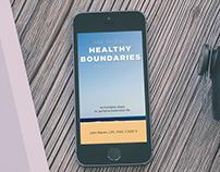 Healthy Boundaries Book Cover and Interior Design