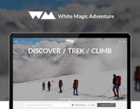 White Magic Adventure - Website Design