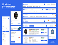 UI kit for e-commerce