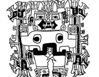 Anthropological Illustrations for Publication