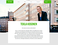 Tekla Kosonen website