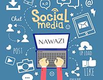 nawazi social media