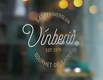 Vínberið = The Grape | Gourmet delicacies branding