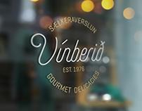 Vínberið =The Grape | Gourmet delicacies branding