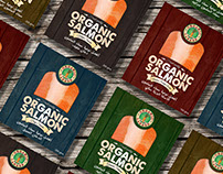 Organic Salmon - Package Design
