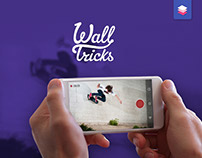 Wall Tricks app - record and share skateboard tricks