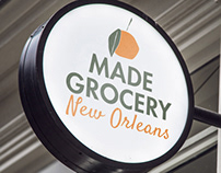New Orleans Grocery Logo