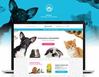 PetLove webdesign