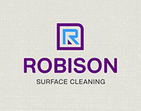 Robison Surface Cleaning Logo and Branding
