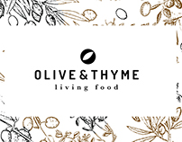 Olive & Thyme Branding and Packaging