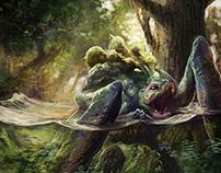 Ergoli - Creature Illustration