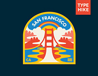 Type Hike x Topo Designs patch