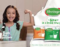 Heritage milk campaign