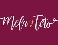 Materiales para la boda de Mela y Teto