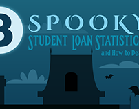 Spooky Student Loans Statistics Infographic - SoFi