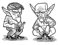 Kucające Gobliny - Squatting Gobbos