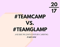 #TeamCamp vs. #TeamGlamp: A Guide to 21st Century Camp