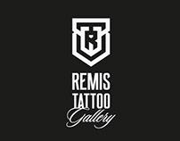 REMIS TATTOO GELLERY Visual identity design