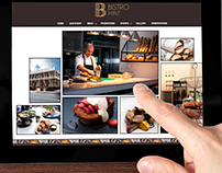 Bistro Mint : Website Design