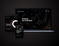 Web Design for Energetic Arts Project