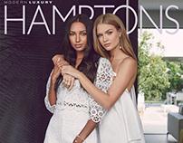 Josephine Skriver x Jasmine Tookes fr HAMPTONS MAGAZINE