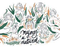 Mujeres al natural | Digital Illustration