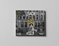 """CD cover para el single """"Juicy"""" de Biggie Smalls"""