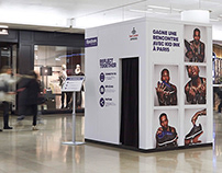 Reebok x Foot Locker, photo booth | brand activation