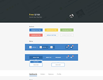 Free UI kit Social User Interface