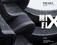 AW2017 Accessories Design for PRADA