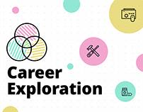 Career Exploration Site Design