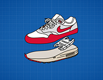 An Illustrated Anatomy of Nike Air Max | Highsnobiety