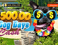 Lotto cards-Dog Days Cash