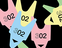 Logo for 302 group ♦