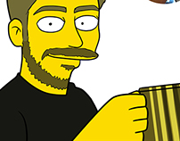 Simpsonized Portraits