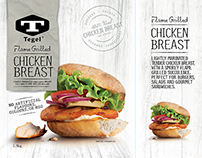 Tegel Export Chicken Packaging