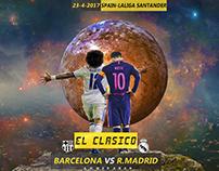El Clasico Real madrid Vs Barcelona 2017