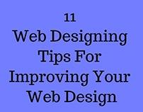 11 Web Designing Tips For Improving Your Web Design