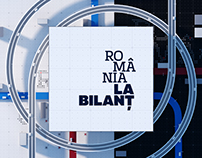 Romania la bilant - Title Sequence