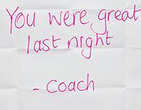 Write it Right- Coach